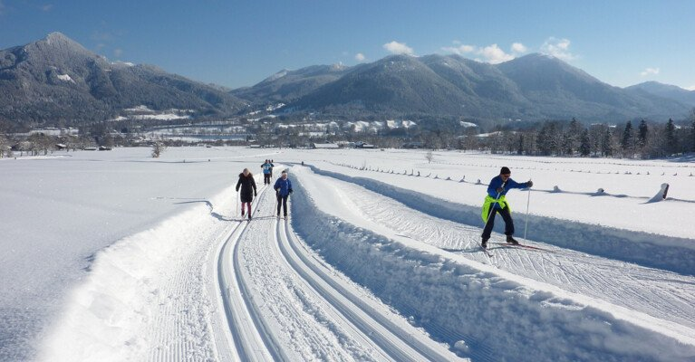 Cross-country skiing Lenggries